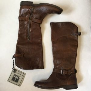 NWT Frye Leather Phillip Riding Boot 5.5
